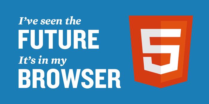 Je suis vraiment, vraiment excité au sujet des nouvelles balises HTML5