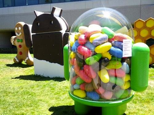 Le déploiement d'Android Jelly Bean a commencé sur le Galaxy Nexus HSPA+