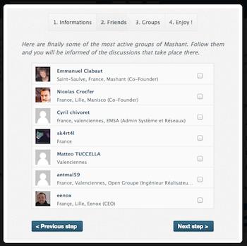 Mashant, le réseau social pour les développeurs ! - Connectez-vous à des amis