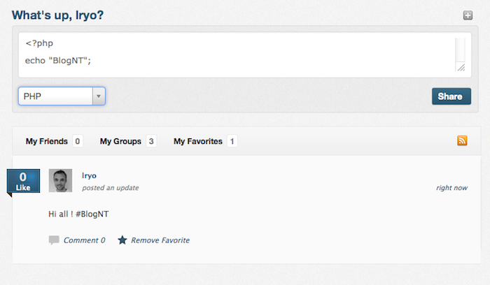 Mashant, le réseau social pour les développeurs ! - Page d'accueil de Mashant