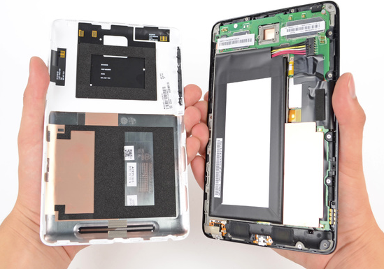Nexus 7 vs. Kindle Fire : Laquelle devriez-vous acheter pour 200$ ? - Nexus 7 et Kindle Fire