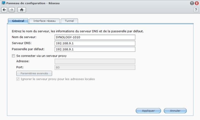 Présentation du nouveau DSM4.1 de Synology - Serveur proxy