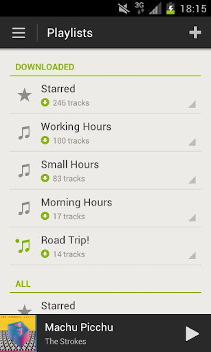 Spotify Radio arrive (enfin) sur Android - Playlist