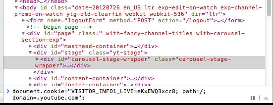 YouTube teste encore une autre interface page d'accueil nommée carrousel - Console