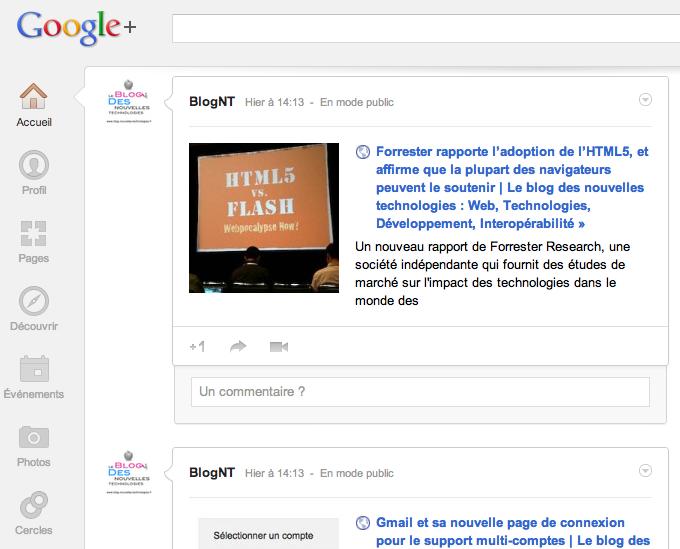 Google+ n'est pas vraiment une ville fantôme... Je l'ai appris à mes dépens !
