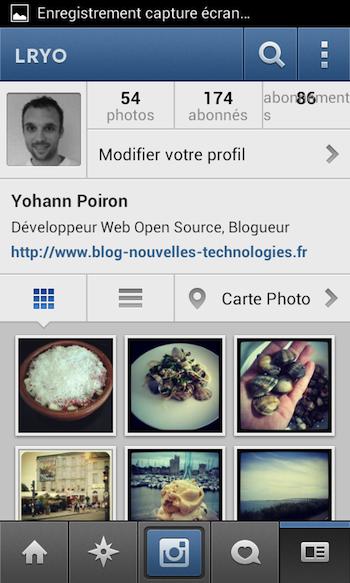 Instagram 3.0 débarque en apportant notamment la géolocalisation - Nouvel affichage du profil