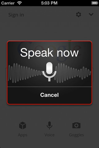 Le Siri de Google arrive sur l'iPhone et l'iPad - Speak now