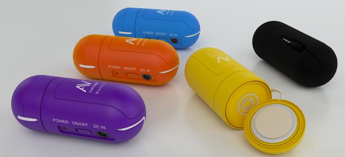 L'enceinte Rock'R d'AV Concept, un haut-parleur de poche de qualité ! - Différentes couleurs pour le Rock'R