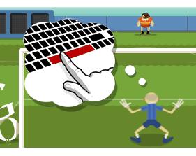 Londres 2012 Football en doodle du jour