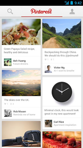 Pinterest lance les applications iPad et Android - Pinterest sur iPad