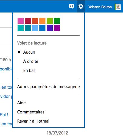 Revenir à l'ancienne interface Hotmail après le passage à Outlook.com - Revenir à Hotmail
