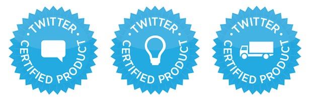 Twitter lance un programme de certification des produits pour les entreprises