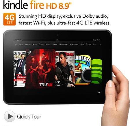 Amazon annonce de multiples nouveaux dispositifs Kindle (Paperwhite, Fire, Fire HD et 4G LTE) - Kindle Fire HD