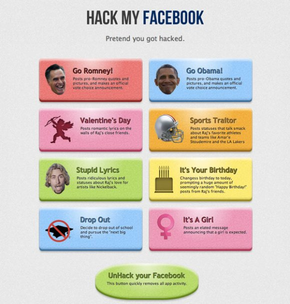Ce site vous permet de hacker votre compte Facebook pour piéger vos amis