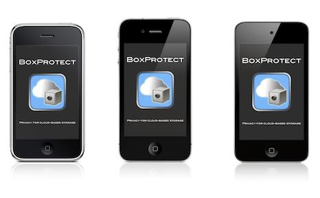 Crypter votre dossier Dropbox sur votre Mac avec BoxProtect - BoxProtect pour mobile, une application iOS pour iPhone et iPod Touch