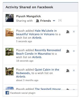 Facebook lance un nouveau plugin social pour partager de l'activité