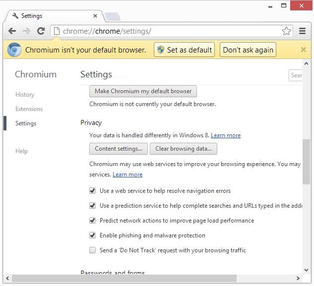Google ajoute le support Do Not Track au sein de Chrome
