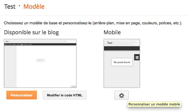 Google ajoute l'option Affichages dynamiques pour les blogs Blogger sur mobile - Accès aux paramètres du modèle de la version mobile