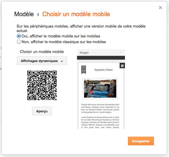Google ajoute l'option Affichages dynamiques pour les blogs Blogger sur mobile - Affichages dynamiques désormais accessible depuis la version mobile