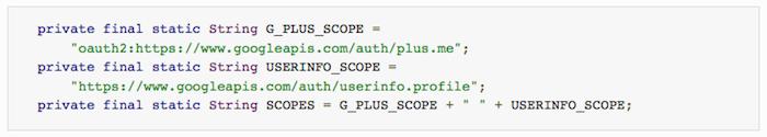 Google détaille l'implémentation de OAuth 2.0 dans Google Play