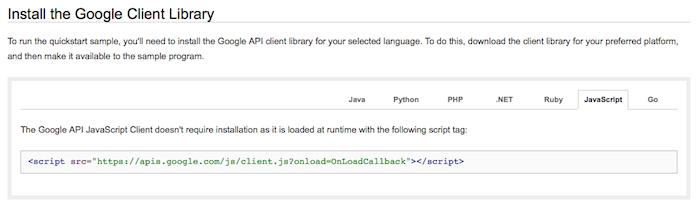 Google Drive API bénéficie du soutien du JavaScript