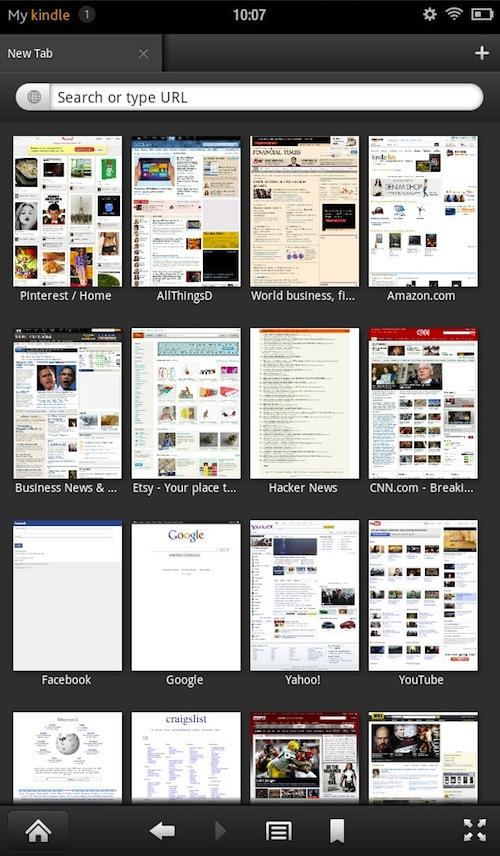 Les nouveaux dispositifs Kindle Fire misent sur le contenu Web
