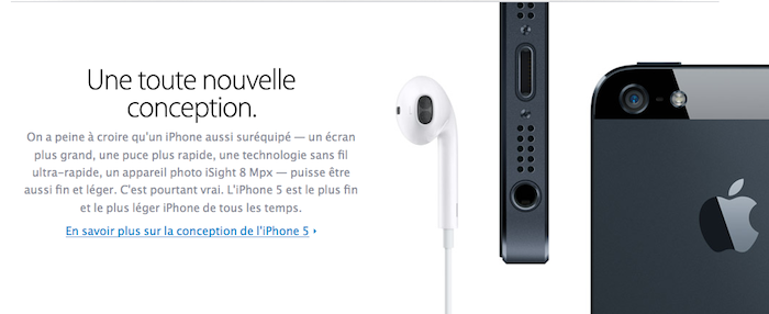 L'iPhone 5 d'Apple est désormais disponible en précommande dans 9 pays