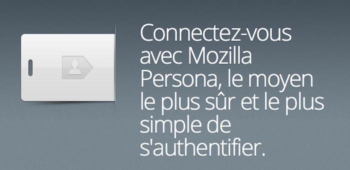 Persona arrive en version bêta 1.0 ! Une alternative à la connexion par Twitter et Facebook