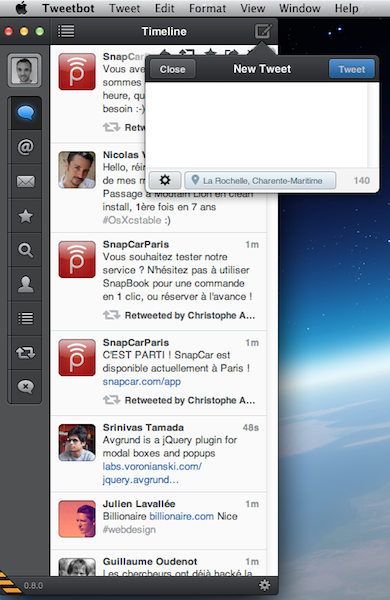 Tweetbot bêta pour Mac est disponible, mais seulement pour ceux ayant la version alpha