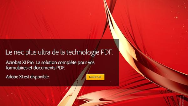 Adobe vous permet désormais d'éditer et de partager facilement des fichiers PDF avec Acrobat XI