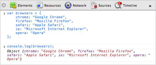 Ajout d'un émulateur des dispositifs mobiles dans les outils de développement de Chrome - Console log