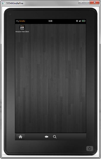 Amazon détaille l'émulateur du Kindle Fire HD