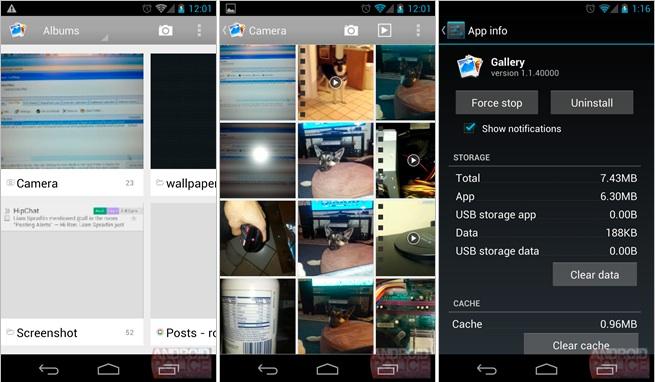 Android 4.2 apporte la gestion multi-comptes, une galerie de photos revue et des réglages rapides