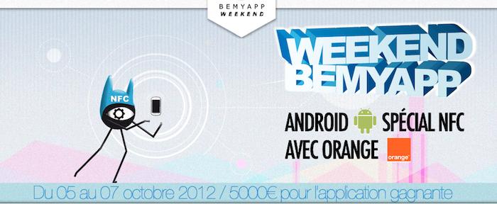 BeMyApp, le premier weekend de développement d'applications mobiles autour de la NFC