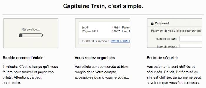 Capitaine Train, une façon simple et rapide d'acheter ses billets de train ouvre ses portes