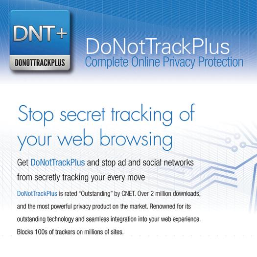 Comment arrêter les sites Web de vous traquer ? - Do Not Track Plus