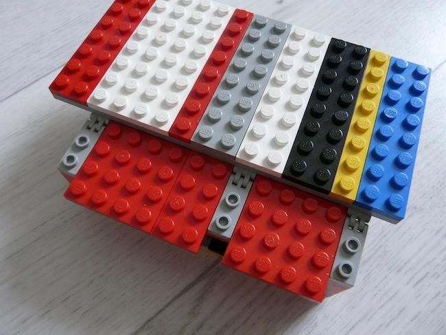 Construisez votre boîtier pour le Raspberry Pi en LEGO - Boîtier LEGO pour Raspberry Pi finalisé