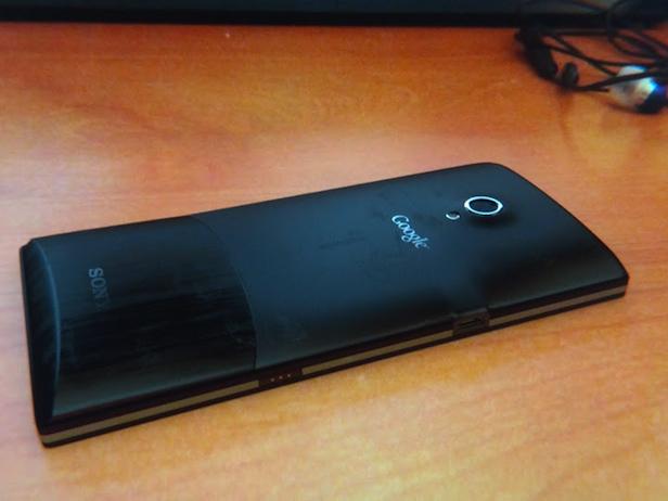 Est-ce que Sony serait en train d'élaborer un téléphone Nexus pour Google ? - Vue de dos