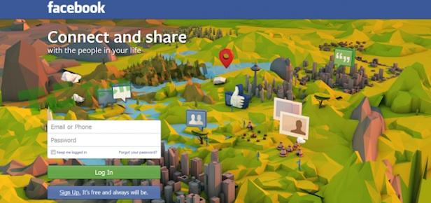 Facebook teste une nouvelle page d'accueil pour les utilisateurs déconnectés