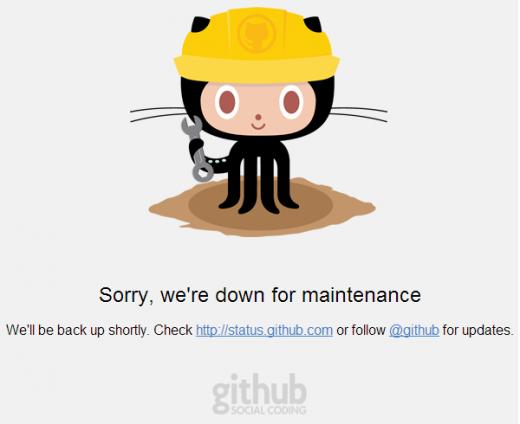 GitHub victime d'attaques DDoS la semaine dernière
