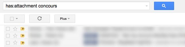 Gmail offre la possibilité de rechercher dans les pièces jointes - Recherche dans les pièces jointes