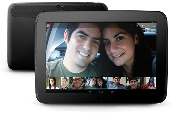 Google annonce sa nouvelle gamme de périphériques Nexus - Nexus 10