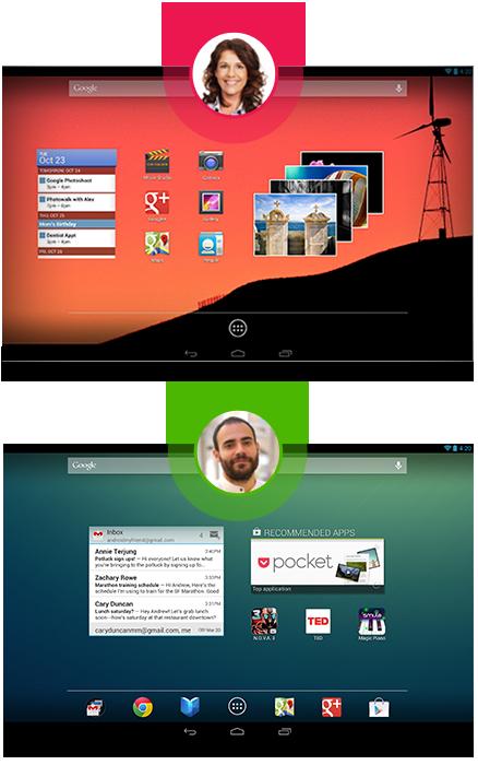 Google annonce sa nouvelle gamme de périphériques Nexus - Multitâche d'Android