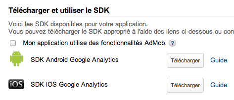 Google Mobile App Analytics enfin accessible pour tous : monitorez vos applications mobiles - SDK sous Android et iOS de disponibles