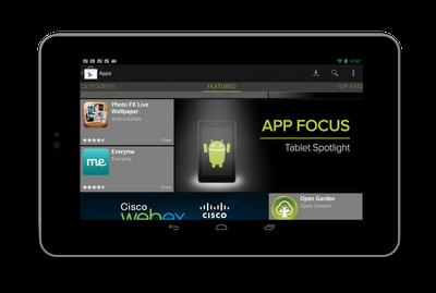 Google tente de convaincre les développeurs de créer de meilleurs applications pour les tablettes