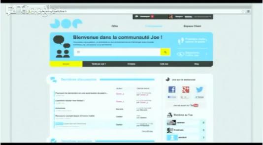 Joe Mobile arrive un cockpit et une communauté inspirée de Dropbox ! Où est la révolution ?