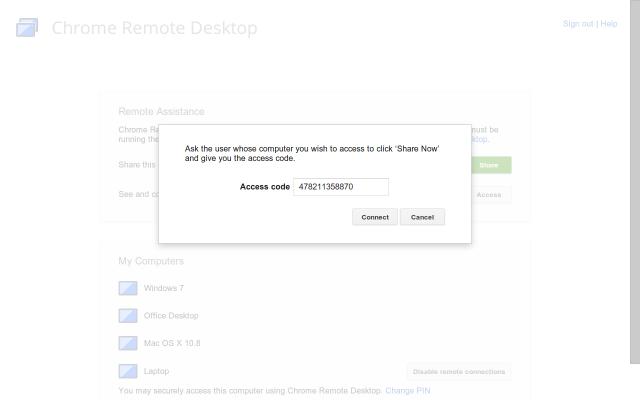 Le bureau d'accès à distance de Chrome est désormais officiel, et arrive avec de nouvelles fonctionnalités