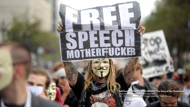 Le documentaire des Anonymous