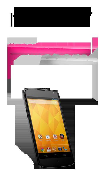 Le Nexus 4 est officialisé au prix de 299$ pour la version 8Go avec Android 4.2