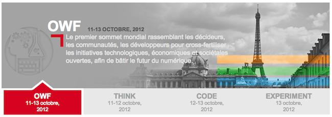 Les évènements Web à ne pas manquer en Octobre, Novembre, Décembre prochain - Open World Forum